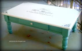 Coffee Table Painting Junk 2 Jewels Diy Coffee Table Tutorial A Looong One