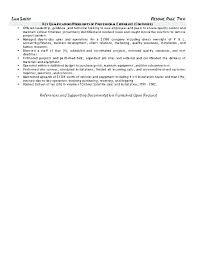 Heavy Equipment Mechanic Sample Resume Podarki Co
