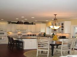 kitchen table lighting. Spacious Kitchen Table Lighting