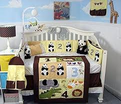 soho baby crib bedding 9 piece set