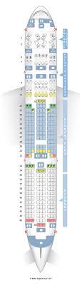 Aeroflot Boeing 777 300er Seating Chart Seat Map Boeing 777 300er Klm Review Klm Boeing 777