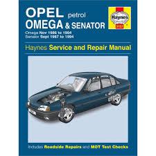 haynes diy work manuals haynes manual vauxhall omega and senator petrol nov 86