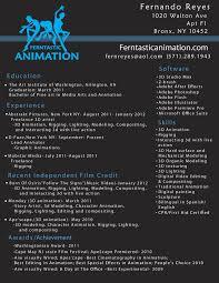 Animator Resume Animator Resume Therpgmovie 39