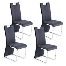 Reality Bari 3 R5141 02 Stühle Im 4er Set Esszimmerstuhl Schwarz Grau