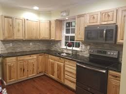 Denver Kitchen Cabinets Beauteous Denver Hickory Cabinets Uba Tuba Granite Countertops Desert