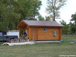 single level log cabin maverick floor plan