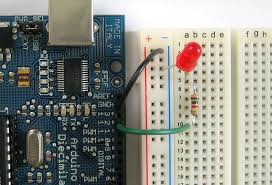 arduino tutorial lesson 3 breadboards and leds the led isn t be blinking anymore lets fix it go back to the beginning of the sketch and this line again