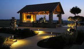 Images of outdoor lighting Backyard Ourdoor Lighting Proactive Solutions Tulsa Hortons Home Lighting Outdoor Lighting Broken Arrow Ok Proactive Landscaping