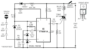 touch lamp dimmer how ls7232 touch control lamp dimmer ic