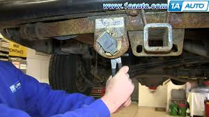 how to install replace trailer harness plug 2000 06 chevy suburban how to install replace trailer harness plug 2000 06 chevy suburban