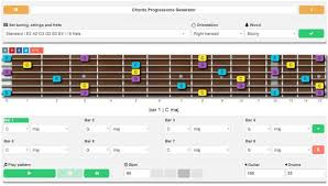 Chord Chart Builder Chord Progression Generator For Guitar