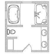 Floor Plan Options Bathroom Ideas Planning Bathroom KOHLER