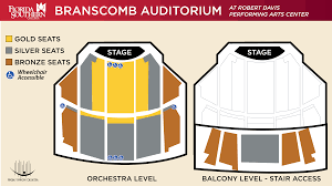 Venue Information Seating Imperial Symphony Orchestra