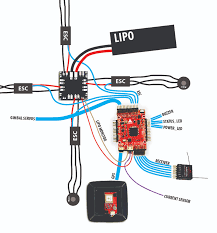 wire connection diy multicopter the buzzer