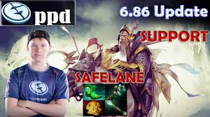 ppd keeper of the light safelane pro gameplay support dota 2
