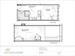 Simple Loft Apartment Layout Marvellous One Bedroom House Plan Idea Enchanting Apartments Floor Plans Design Style