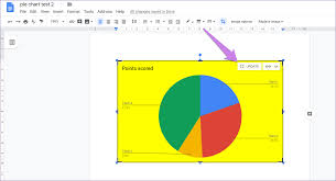 Google Pie Chart How To Put Pie Chart In Google Docs And 9 Ways To Customize It