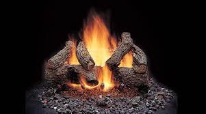 majestic american oak vented gas logs