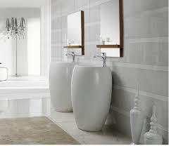 Image Victorian Modern Bathroom Pedestal Sink Vinci The Interior Gallery Modern Pedestal Sink Contemporary Pedestal Sink Vinci