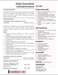 resume objectives for customer service representative customer service resume objective examples statements representative