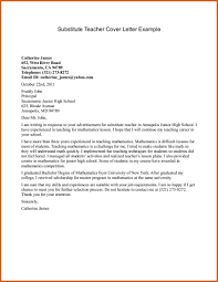 Teaching Cover Letter General Resumes