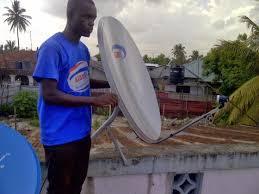 dish installer stock photo tv satellite dish installer retro circle professional satellite dish installer accra metropolitan dish network installers