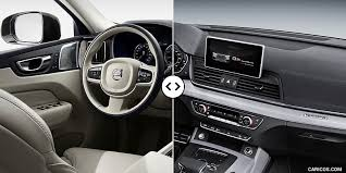 2018 volvo interior. simple volvo 2018 volvo xc60 vs audi q5  interior to volvo interior