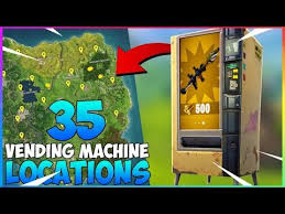 How To Get A Vending Machine Location Impressive ALL 48 Vending Machine LOCATIONS How To Use Them Raven Release