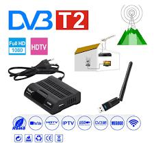 DVB HD-99 T2 Receiver Satellite Wifi Free Digital TV Box DVB T2 DVBT2 Tuner  DVB C IPTV M3u Youtube Russian Manual Set Top Box - Mega Promo #D0C94