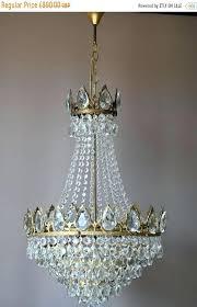 hollywood regency chandelier antique french vintage crystal image 0 chandeliers