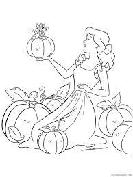Coloring pages are fun for children of all ages and are a great educational tool that helps children develop fine motor skills, creativity and color. Cinderella Coloring Pages Cartoons Cinderella 1 Printable 2020 1760 Coloring4free Coloring4free Com
