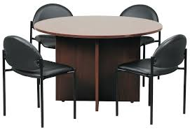 round office table round office table and chairs new hoppers office furniture conference room new round