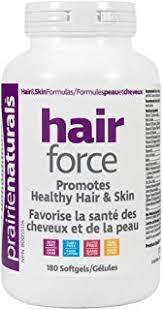 prairie naturals hair force 180 softgels