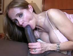 Wife gives handjobs to black cocks