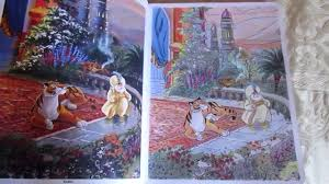 They're just a small section of our printable kids coloring pages. Thomas Kinkade Disney Coloring Book First 10 Colored Pages Youtube
