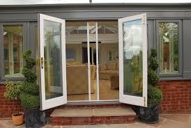 image of track patio doors