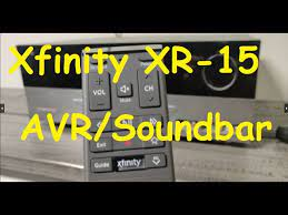 how to program xfinity xr 15 remote to