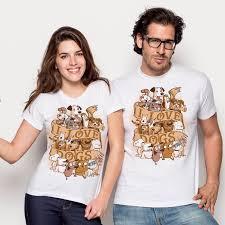 I <b>Love Dogs</b> by Redbug - Pampling.com T-shirts