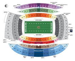 Soldier Field Chicago Bears Seating Chart Chicago Bears 2018 Season Tickets 2 Tickets For 8 Regular