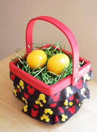 how to make a mickey mouse easter basket