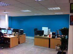 option 3 a dark blue blue office decor