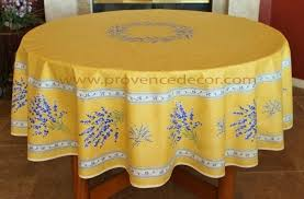 lavender yellow coated cotton french provence tablecloth french oilcloth indoor outdoor round circle table cloths rectangle rectangular tablecloths