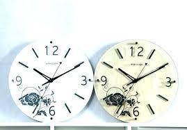 umbra wall clock no tick talk ribbon singapore umbra ribbon wall clock