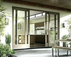 french double doors exterior large patio sliding glass door narrow opening fren