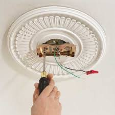 Installing A Ceiling Medallion