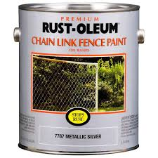 gloss chain link fence rust preventive paint