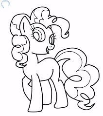 Small Picture Nice My Little Pony Coloring Pages Pinkie Pie 1393 Unknown