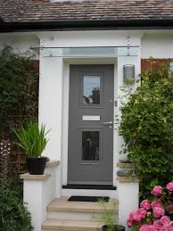 front doors trendy colors glass front door canopy 139 glass front