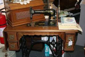 Treadle Sewing Machine Cabinet Singer 1893 Sewing Machine I Think It Is A 127 Collectors Weekly