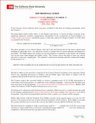 Sample Contract Addendum New Bid Proposal Template Mughals ...